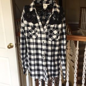 Adorable anthropology flannel